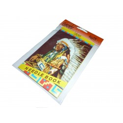 Needles map - Indian - 1pcs/polybag with card