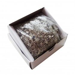 Safety Pins ECONOMY - 22mm - nickled - 1728pcs/box (loose)