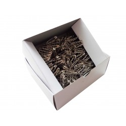 Safety Pins ECONOMY - 27mm - nickled - 864pcs/box (11/12 - in bunches)