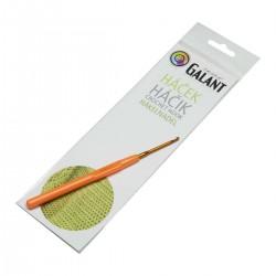 Crochet hook with plastic handle - 14cm - 2,50mm - 1pcs/polybag
