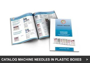 Catalog Machine Needles in Plastic Boxes (PB)