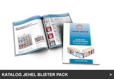 Katalog jehel Blister Pack